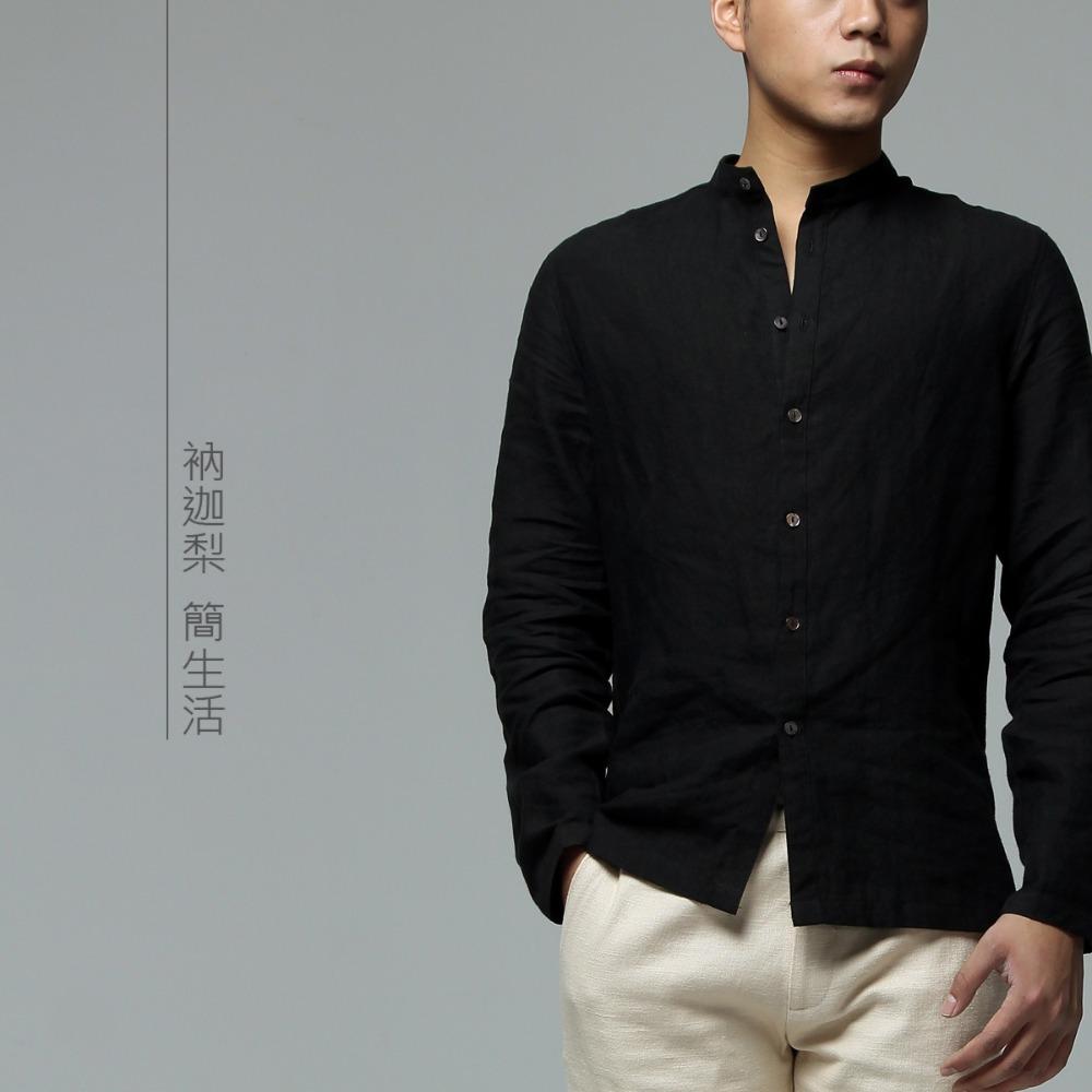 Linen Shirt Black   Artee Shirt