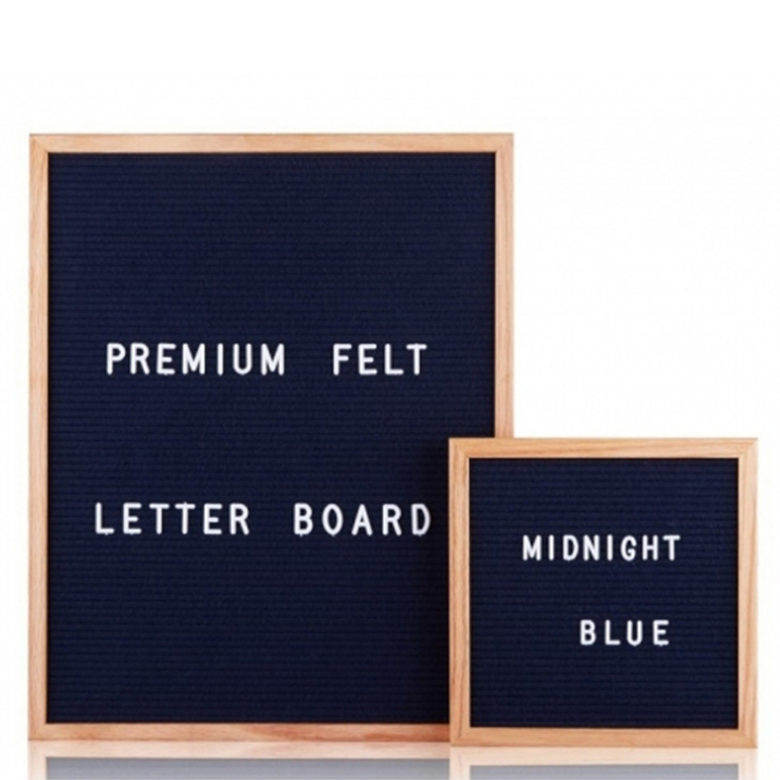 <strong>Wood</strong> Frame Changeable Felt Letter Board With290 Letters and Stands Made in China