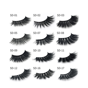 Best selling wholesale 3D mink private label eyelashes