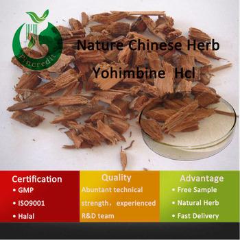 98% Yohimbe Oganic Yohimbe Bark Extract Yohimbe HCL