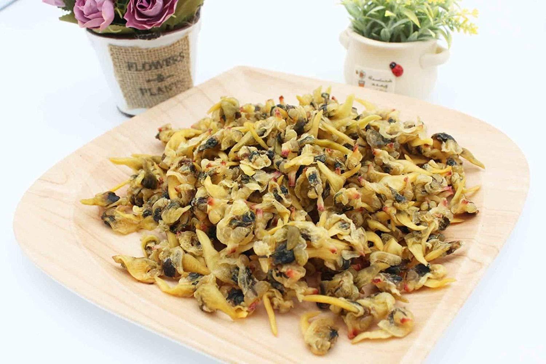 China Good Food Dried Seafood Dried Clams 蜆肉干 蚬肉干 Free Worldwide AIRMAIL
