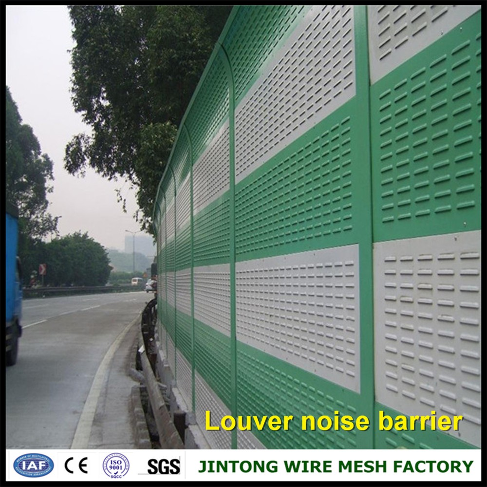 Good Highway Aluminum Panel Acoustic Barrier Panel Sound Barrier Noise Barrier