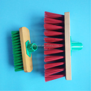 garden cleaning tool Floor cleaning hard nylon abrasive brush
