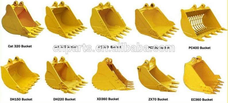Excavator Grab Clamshell Bucket Capacity 3cbm for 35tonne Digger