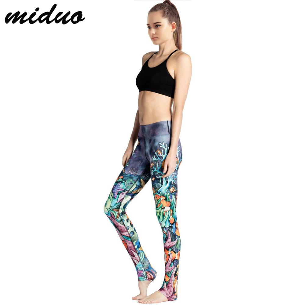 women's clothing sportswear printing four needles six lines of yoga pants