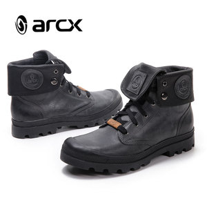 ARCX Motorbike Leather Shoes Racing Motorbike Boots Men Riding Boots Motorcycle