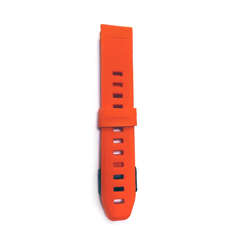 New product 2019 38mm 42mm Soft Silicone Rubber Smart Watch Band