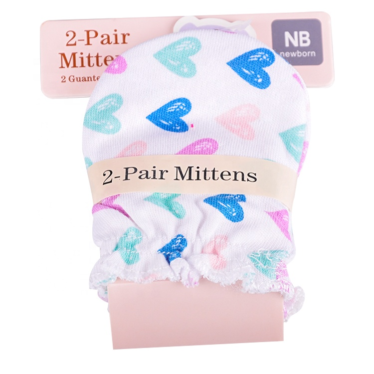 Factory Direct Creative Cheap Infant Hanging Cute Warm newborn Mitten For Baby
