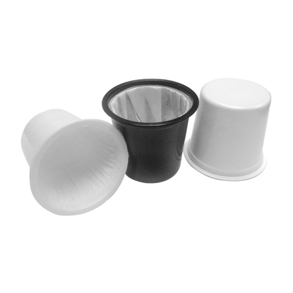 Disposable PLA environmentally friendly degradable empty coffee capsule