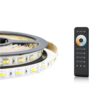 Touch <span class=keywords><strong>ring</strong></span> 4 Zones 2.4g Kleurtemperatuur Afstandsbediening RS2 met CCT 120 leds/m dual wit 2835 led strip tape