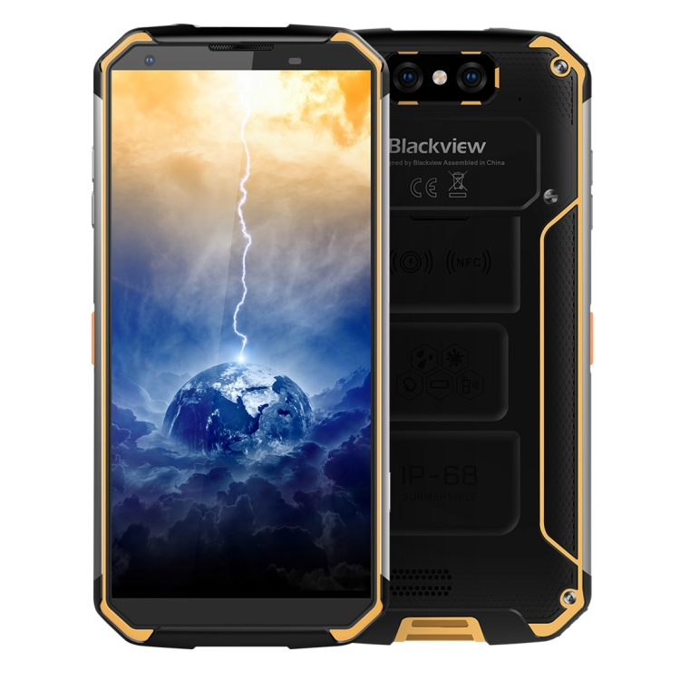 Unlocked Drop shipping Original Rugged Smartphone IP68 Blackview BV9500 Ram 4GB 64GB Waterproof Android 4g Mobile Phones