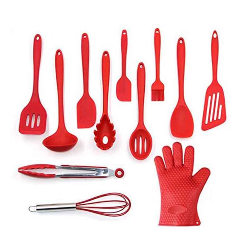 Beste marke heat resistant kochen silikon spatel küche kochgeschirr set