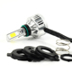 M3Plus Motorcycle LED Headlight Lights H4 3000LM 32W 8-36V H4 Hi/Lo