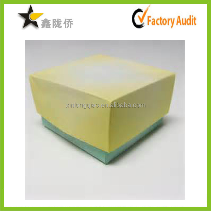 2015 Custom color printing paper cardboard cookie gift box/chocolate box