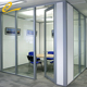 Lightweight partition wall panel easy install