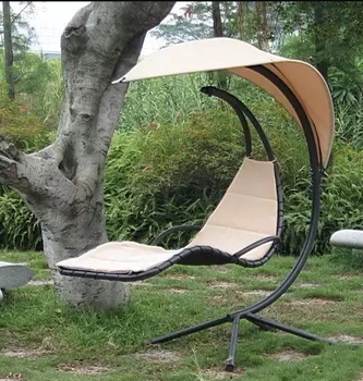 Fine Hanging Chaise Lounger Chair Arc Stand Canopy Air Porch Swing Hammock Chair Buy Hammock Chair With Canopy Free Standing Hammock Chair Free Standing Short Links Chair Design For Home Short Linksinfo