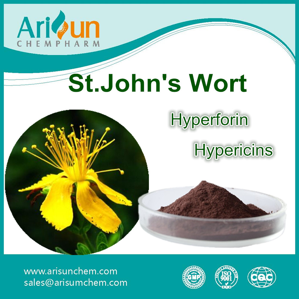 Factory Supply St. John's Wort Extract Powder/St. John's Wort Extract