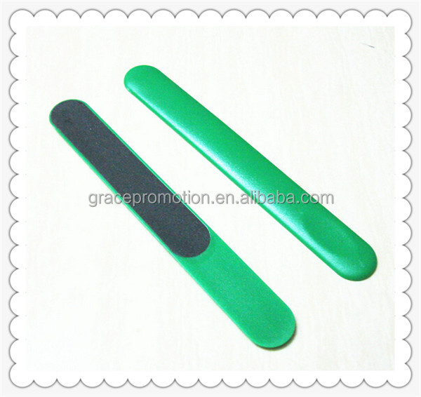 Novelty Design Fashionable Style Promotional Price Plastic Nail File
