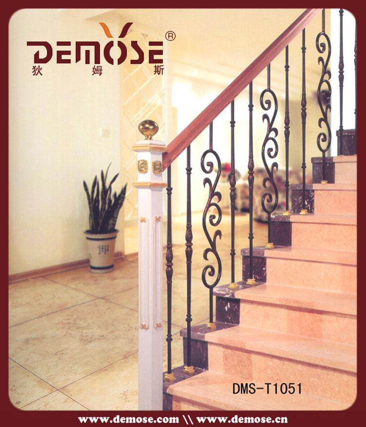 usado de hierro forjado pasamanos escalera exterior
