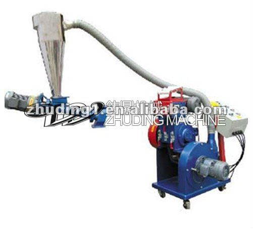 High speed edge material recycling machine