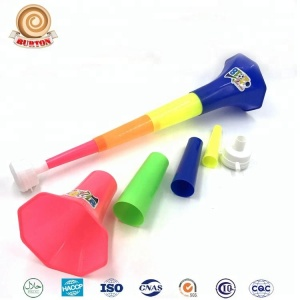 Plastic Super Long Football Air Horn Trumpet Toy
