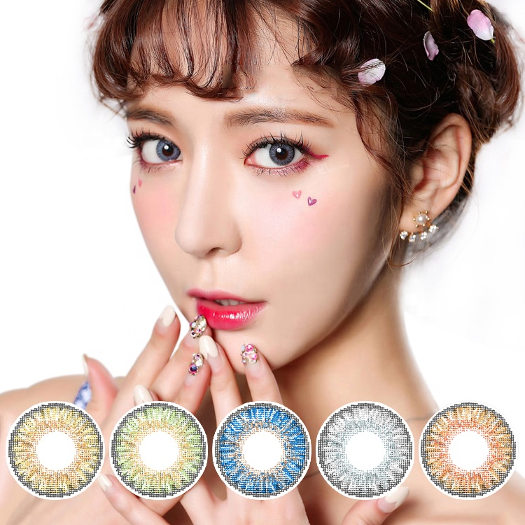 Realcon OEM Available Big Size Eyes Color Cosmetics Contact Lenses Supplier from the Base of Factory фото