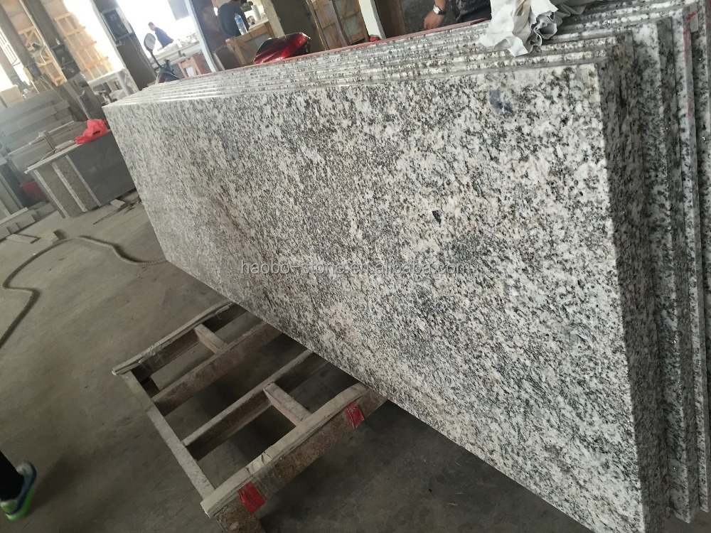 Bianco Antico Granite Prefab Laminated Kitchen Countertops