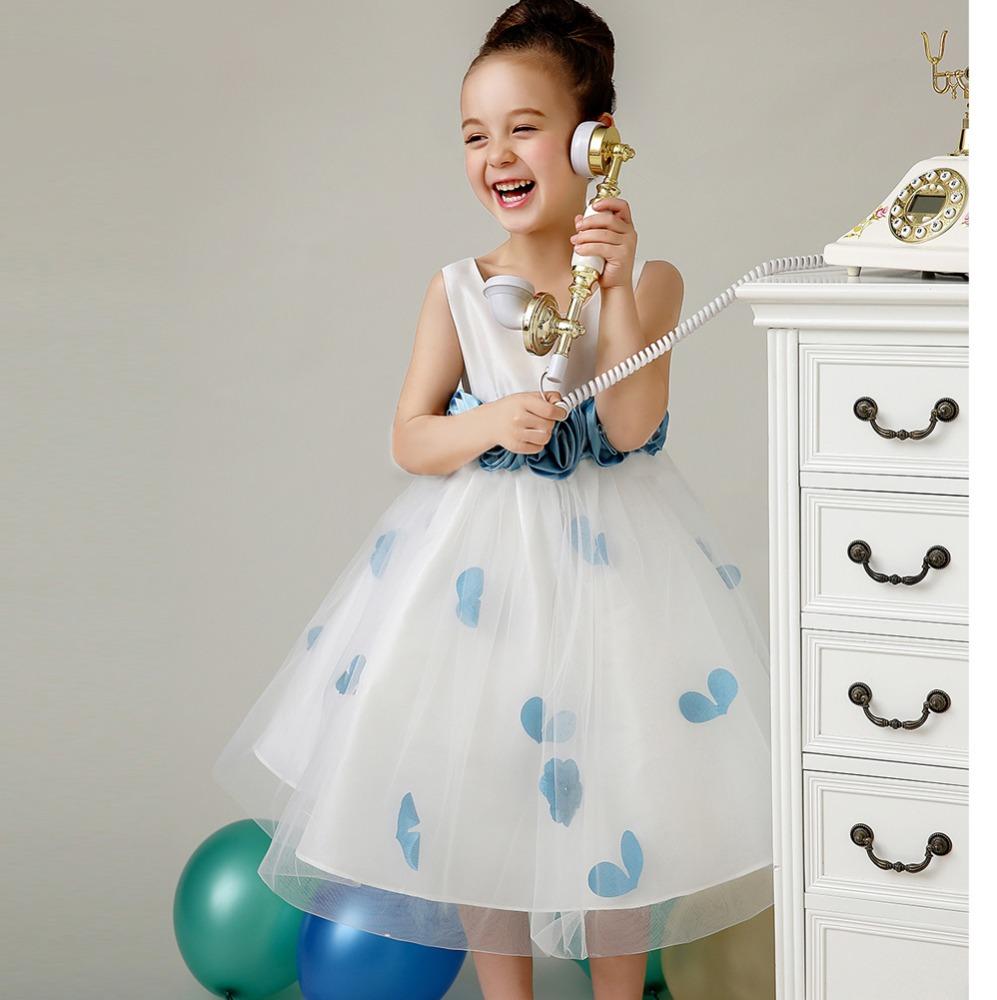 Venta al por mayor petalos azules vestidos de novia-Compre online ...