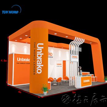 Used Trade Show Booth : China exhibition booth design modular used trade show booth view
