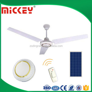 "Remote Control Low Price 48""or 56"" 12V Solar Dc Ceiling fan"