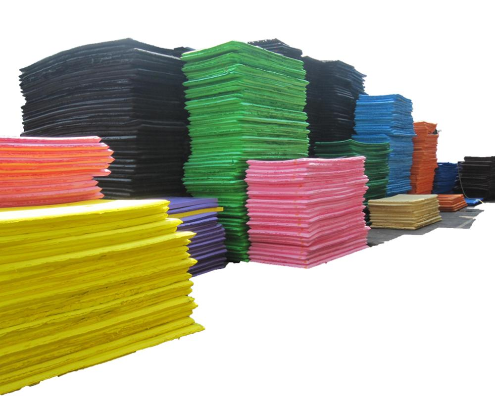 multicolor environment friendly EVA foam sheet for shoe sole/slipper/mat