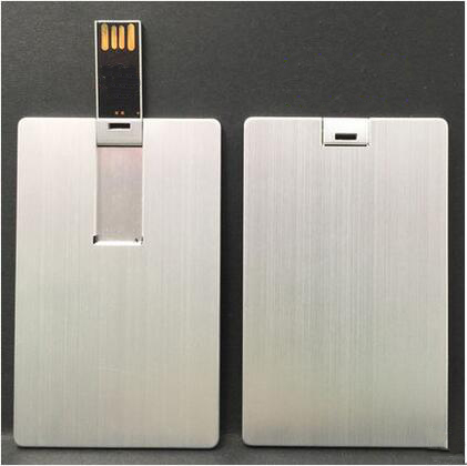 metal card usb flash drive memory stick pendrive with logo printing