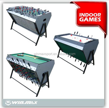 Wholesale Cheap Fancy Game Pool Tables Outdoor 3 In 1 Bumper Pool Table