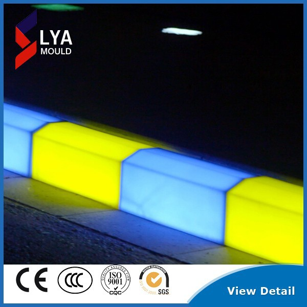 colorful LED light curbs for road side curbstone led curbs