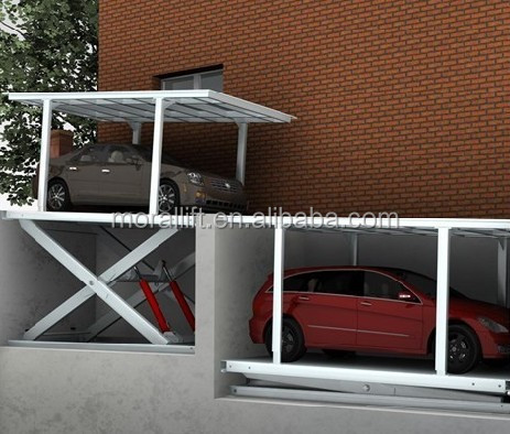 In Floor Car Lift Hydraulic Garage Underground Cost