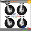 Free Sample Heavy Duty 8 INCH Air Tire Swivel Base Caster Wheels