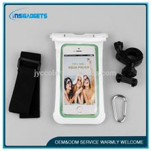 2016 new design pvc bag waterproof phone case ,cl009, factory wholesale mobile phone arm band waterproof bag