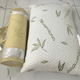 2019 customize bamboo pillow with shredded memory foam filling for sleep