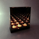 infinity candles with mirror manufacturer in china