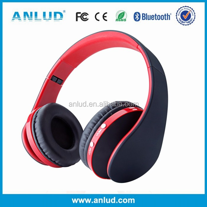 Wireless and 3.5mm cable Connectors and Wireless Communication phone stereo bluetooth headphone