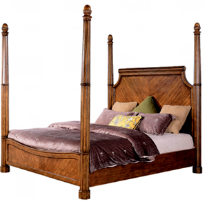 Luxury Matching Furniture Four Poster Bed Wooden Models H750 1062