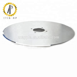 Tungsten carbide round paper cutter knife disc