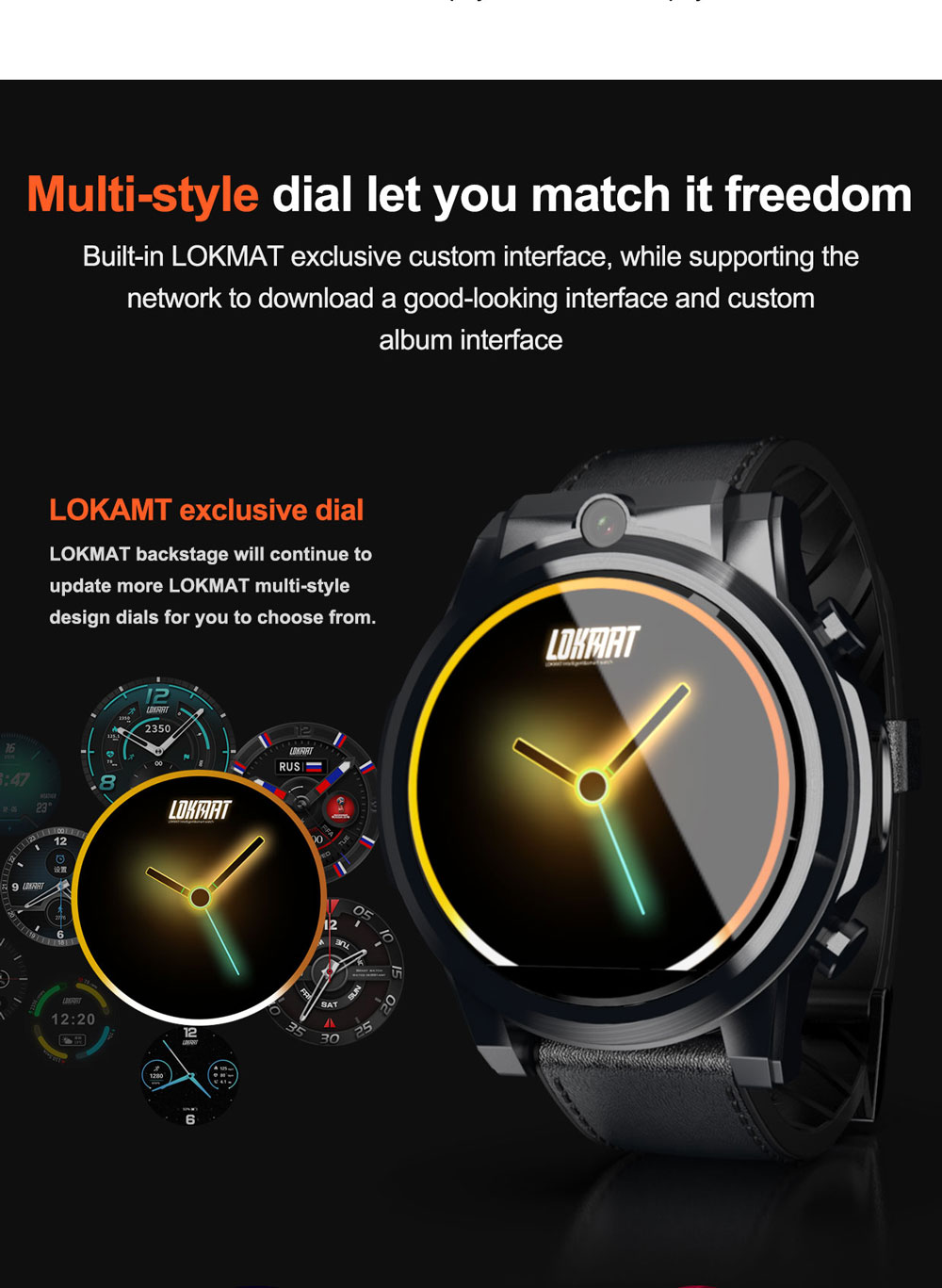 China manufacturer smart android watch 4g phone