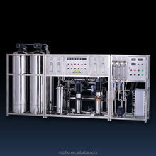 MZH-RO500L/H TWO STAGES WATER TREATMENT WITH EDI SYSTEM