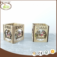 China Supplier wooden table decoration candle holders wood With Professional Technical Support