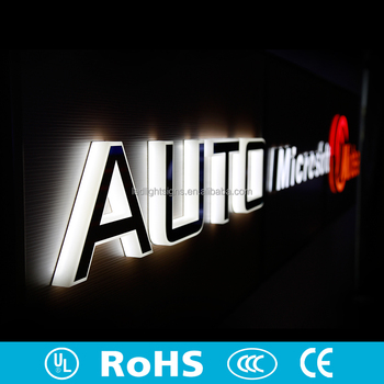 Led Edge Lit Acrylic Mirror Stainless Steel 3d Led Backlit Letter Sign 12v  Led Sign Acrylic Alphabet Letter Sign With Led Light - Buy Embossing