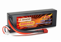 lipo battery manufactory Rechargeable lipo rc hard case battery packs 7.4v 8000mah 100C fo rc racing cars