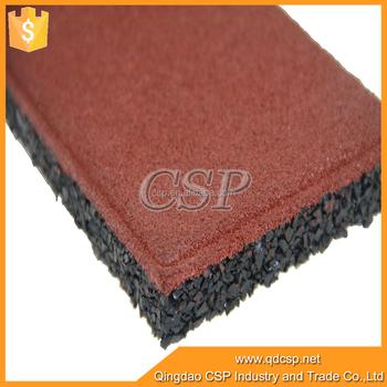 China Gold Supplier Restaurant Kitchen Rubber Floor Tiles - Buy ...