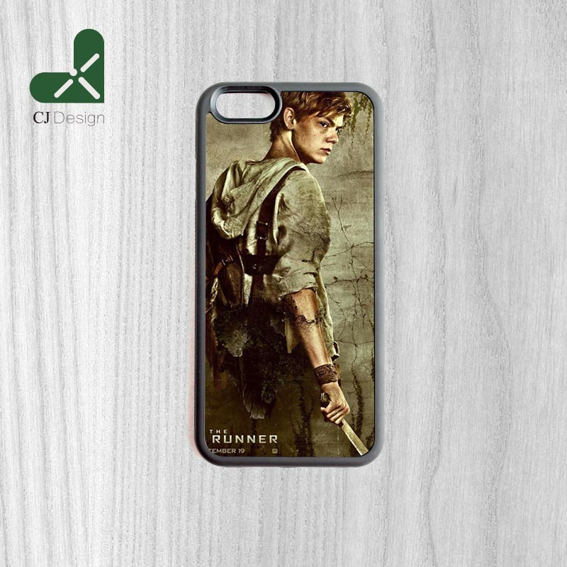 The Maze Runner Thomas Sangster Style Luxury Back Cover