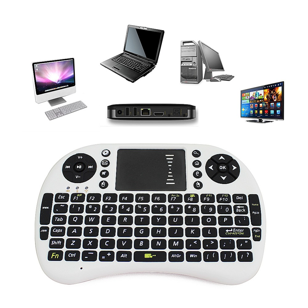 Larger trackpad unique double mouse button design keyboard and mouse gaming keyboard